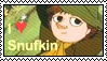 I heart Snufkin stamp by GloomySisterhood