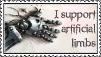 Artificial limbs stamp by GloomySisterhood