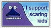 The Groke support stamp