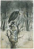The crow by GloomySisterhood
