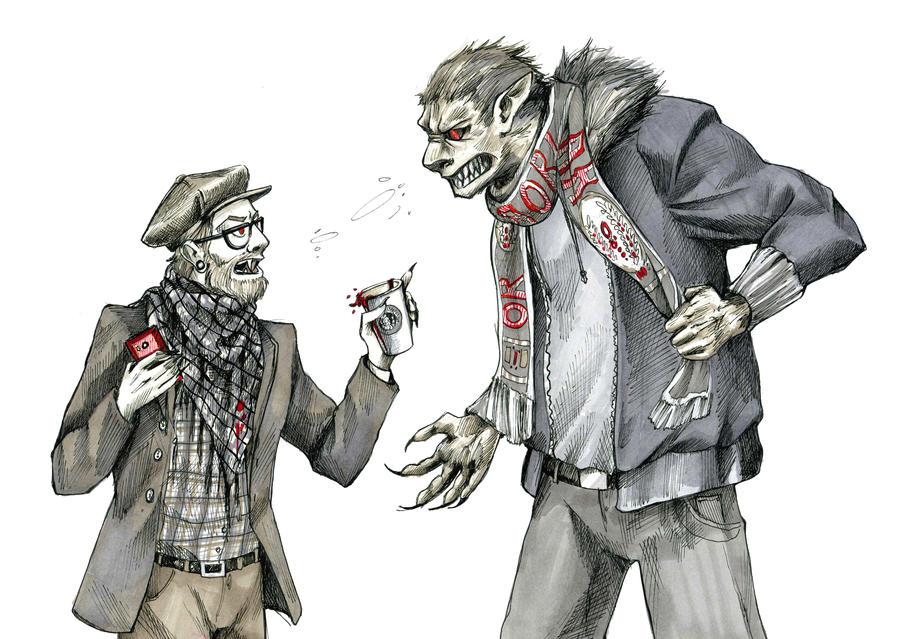 https://img08.deviantart.net/f931/i/2014/033/6/3/hipster_vampire_and_werewolf_football_fan_by_gloomysisterhood-d74rp53.jpg