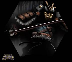 [VoZ] Merciless Samurai by Fireskye-Art