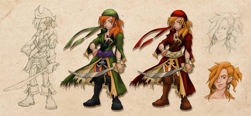 [Raided Yarr!] - Kate Redthorn Character Sheet by Fireskye-Art