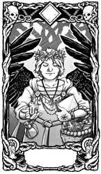 Tarot Card - Druid Hierophant