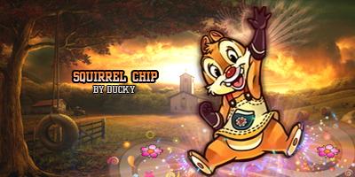 Sig Squirrel Chip by iandresito