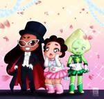 Sailor Gems and Tuxedo Connie