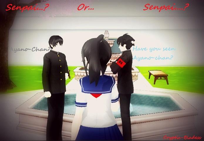 Senpai or Senpai? by Cryptic-Blades