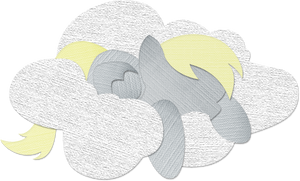 Canvas Paper Derpy Hooves by Saw-Buck