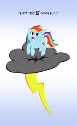 Rainbow On A Thundercloud by Saw-Buck