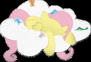 Canvas Paper Fluttershy - v2.0