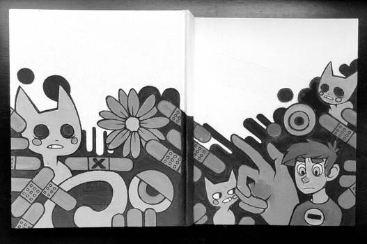 New Sketchbook Cover!
