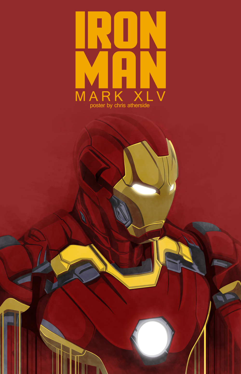 iron man mark xlvatherside on deviantart