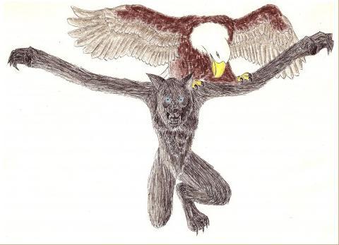 Werewolf by Skull-On-The-Horizon