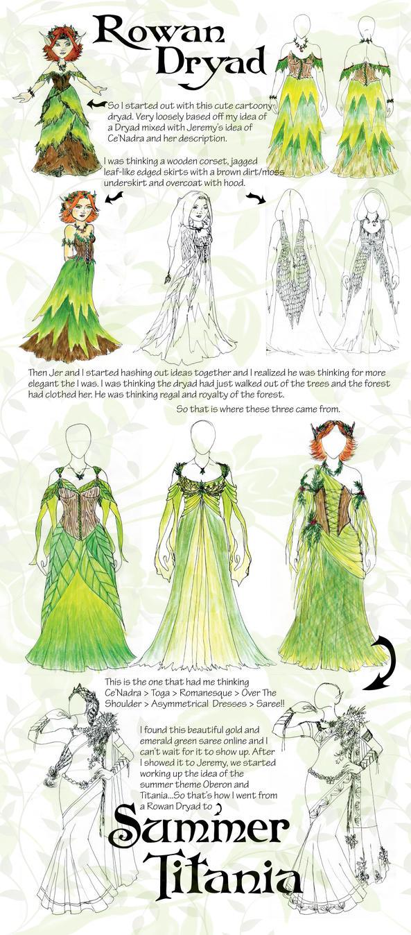 Rowan Dryad to Summer Titania by BelovedUnderwing