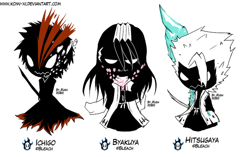 Bleach Favourites By Lyna Ayu On DeviantArt