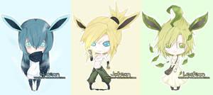 Chibi pokemon set 1