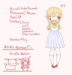Nana official profile!! by Hyakupasaurus