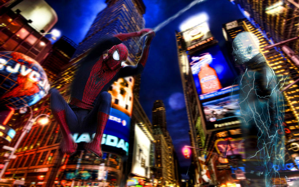 The Amazing Spider-Man 2 - Spidey VS. Electro by h0Ly5hitBAWWLLSS on ...