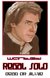 Regal Solo - Wanted by JediOrder