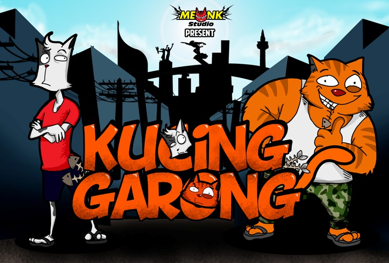coming soon : Kucing Garong by FazaMeonk