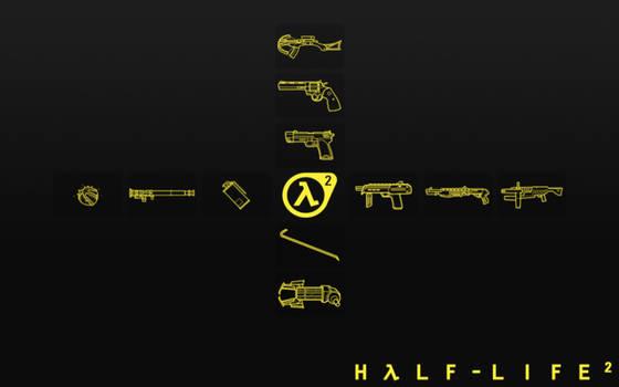 Half Life 2 Weapon Selection