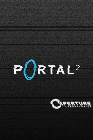 Portal 2 iPod Wallpaper by Zeptozephyr