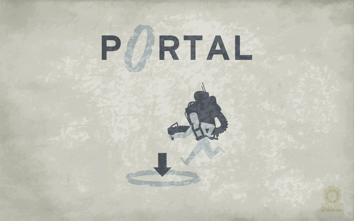 Old School Portal Wallpaper by Zeptozephyr