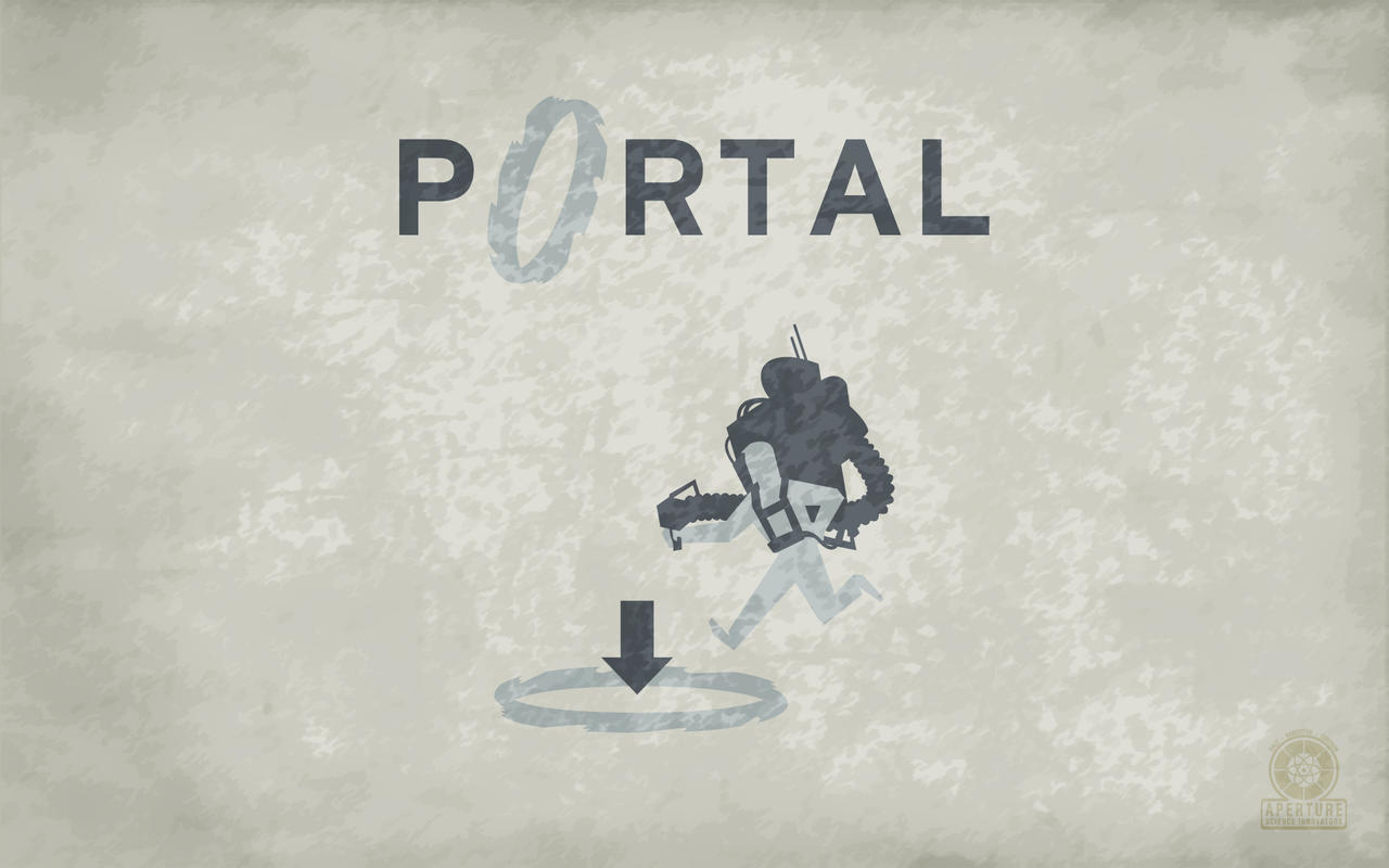 Old School Portal Wallpaper