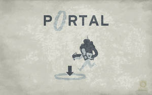 Old School Portal Wallpaper by Zeptozephyr