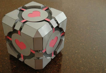 Companion Cube by Zeptozephyr