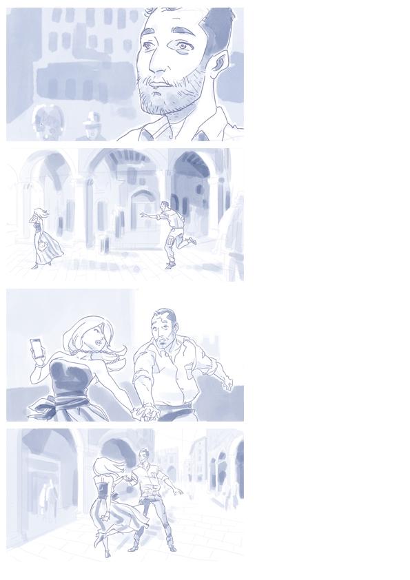 Storyboard sample B by raffaele-ricciardi
