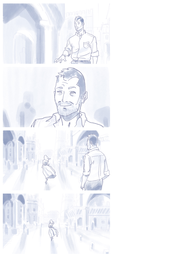 Storyboard sample D by raffaele-ricciardi