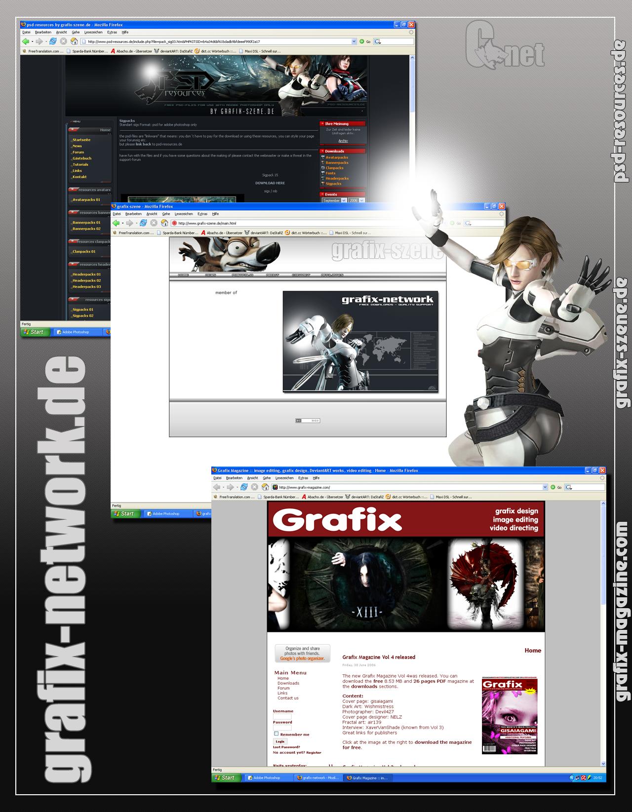 Ad grafix-network.de for Vol 5 by ToaTs