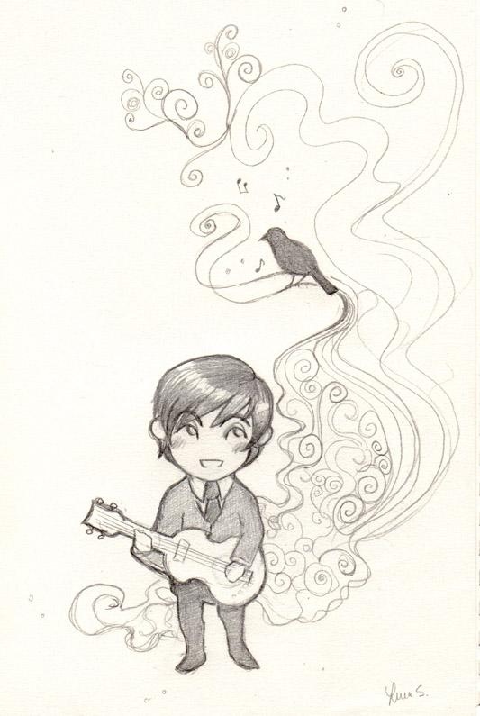 Blackbird by Nanaowl