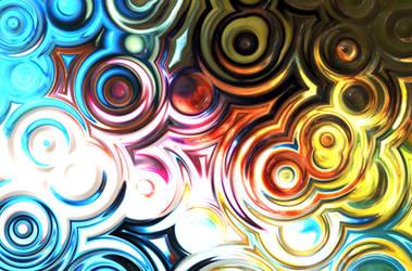 Rainbow Waves by AmyinWonderlandofOz