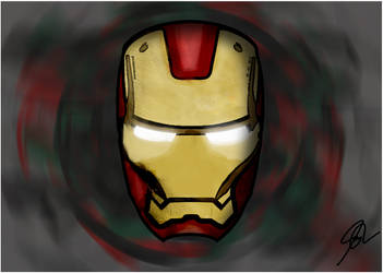 Ironman Helmet by jcbleona