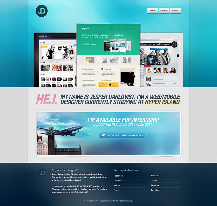 yeahsper.com Portfolio by yehsper