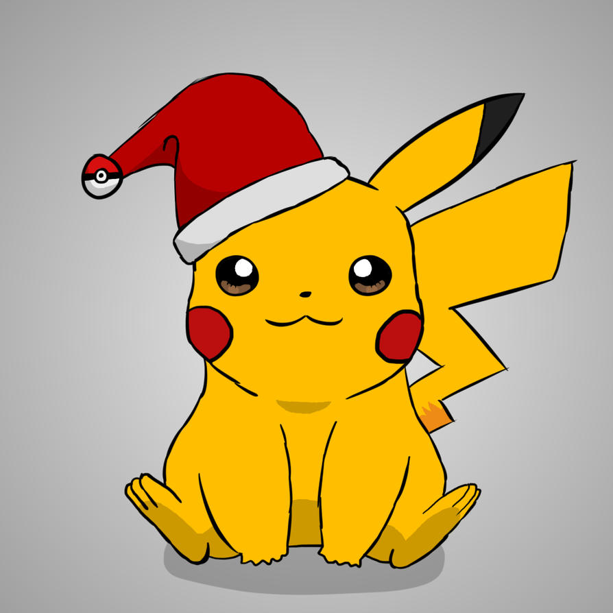 pikachu christmas hat download - Christmas Pikachu