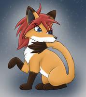 Sara tail nom by Stormland