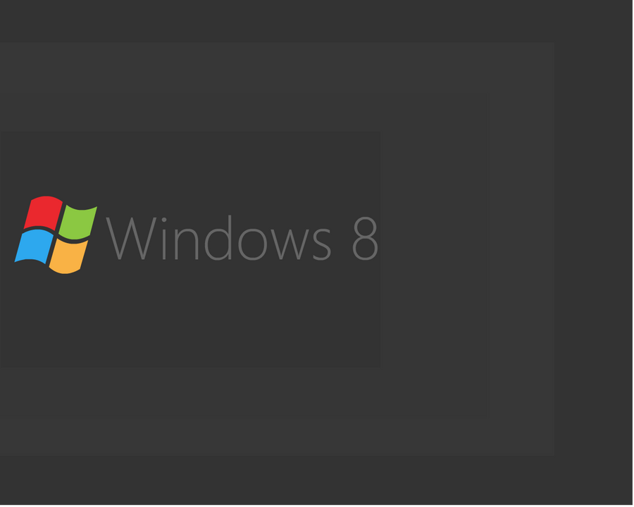 Windows 8 Wallpaper Vector By Hamza62240 On DeviantArt
