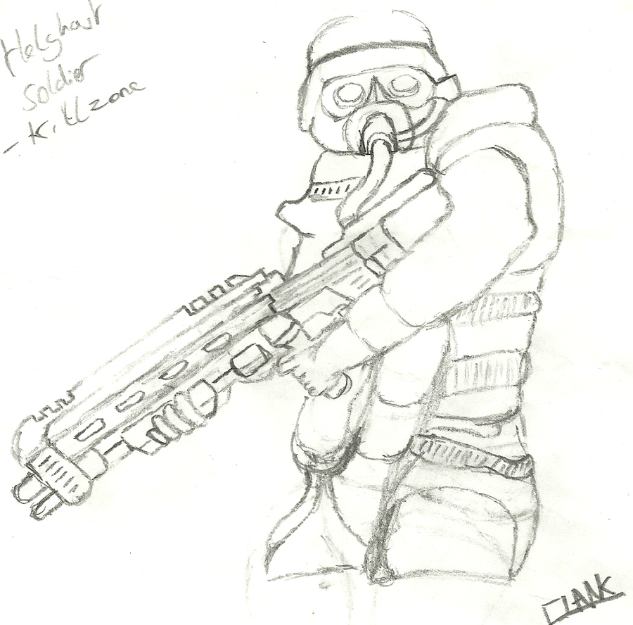 american soldier drawing - photo #24