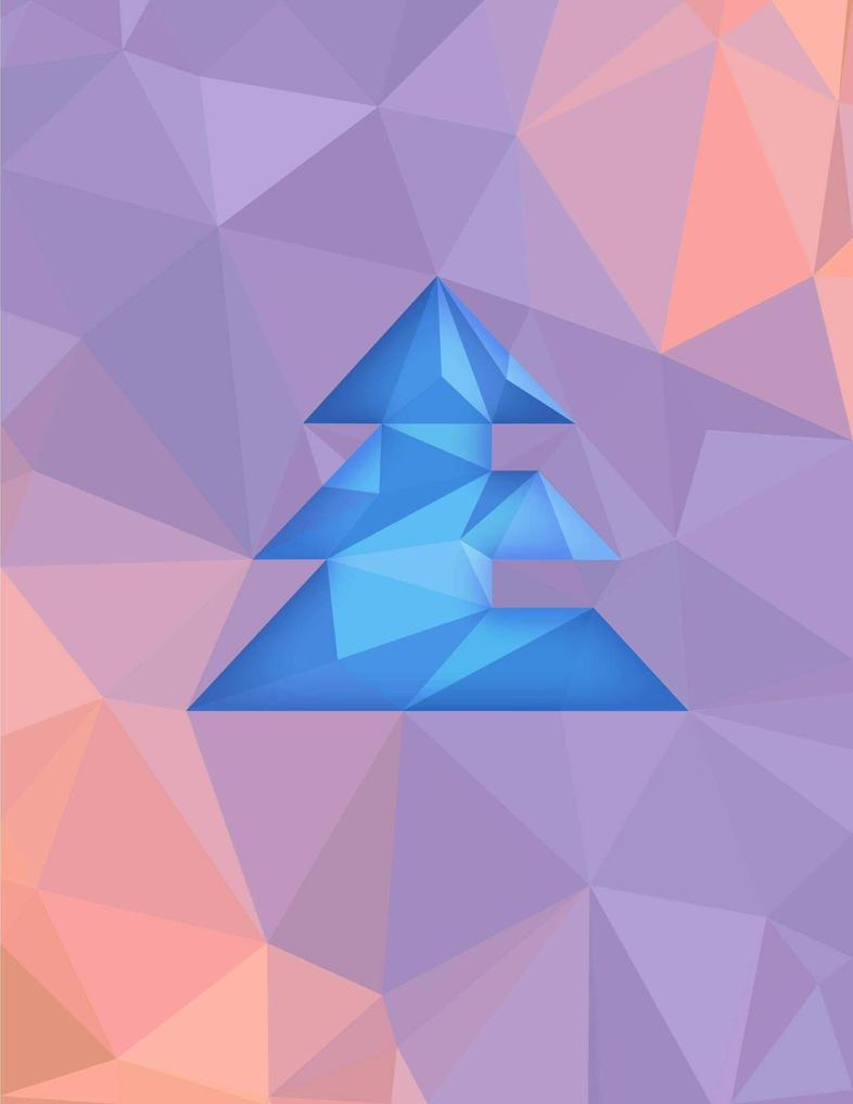 my logo in polygons by 3litza