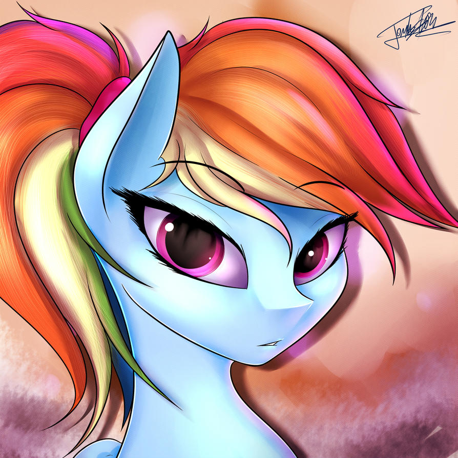 Rainbow Dash by ELZZombie