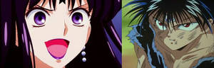 Hiei vs Hotaru