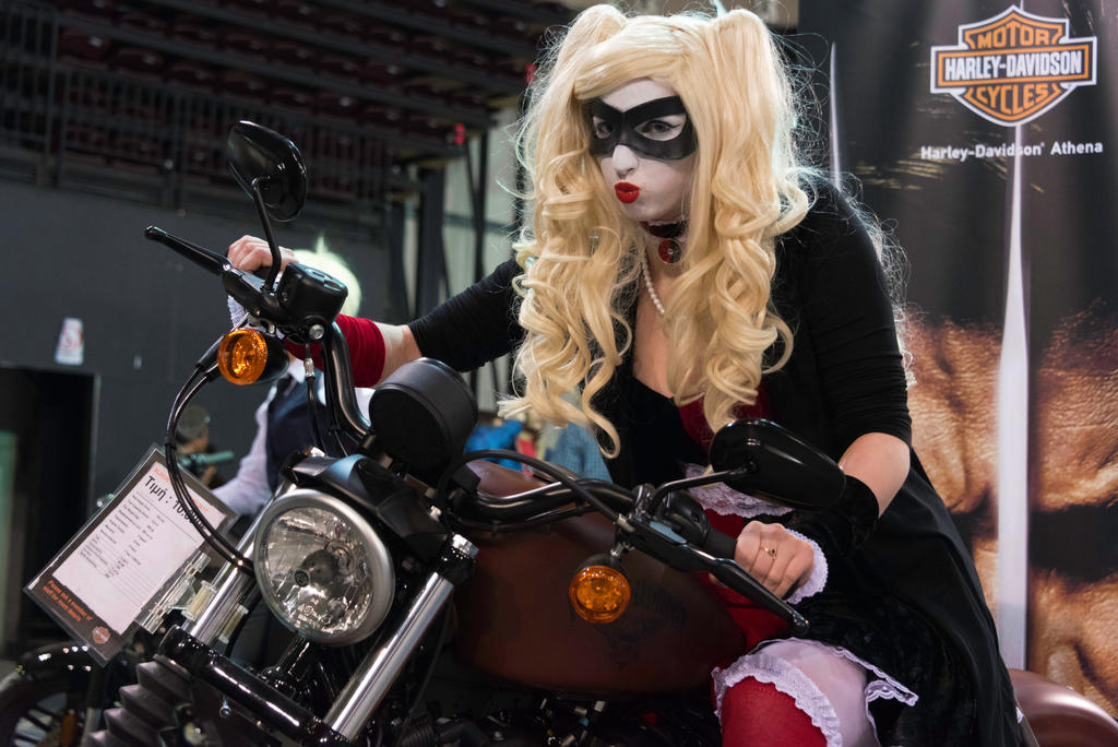 Don't you wanna rev up your Harley? by AiLeenChanAutumn
