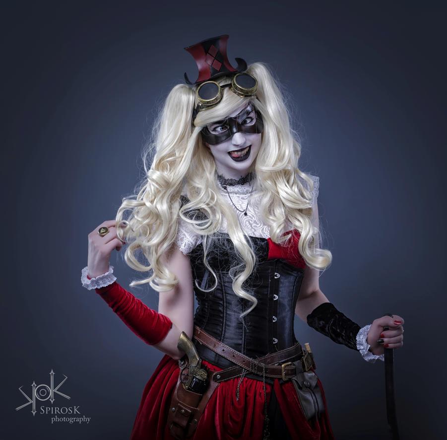 Steampunk Harley Quinn II by AiLeenChanAutumn