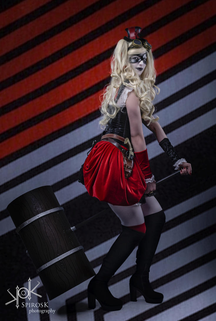 Steampunk Harley Quinn III by AiLeenChanAutumn