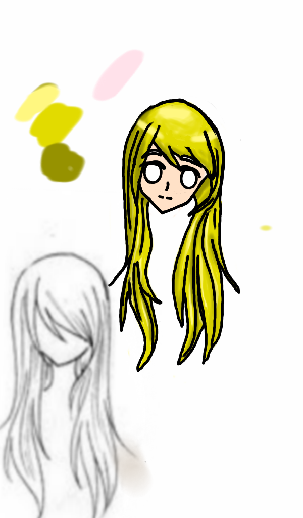 Anime Girl (incomplete) by GreedTheGreedy
