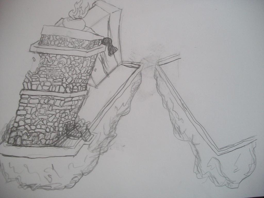 Crumbling City by GreedTheGreedy