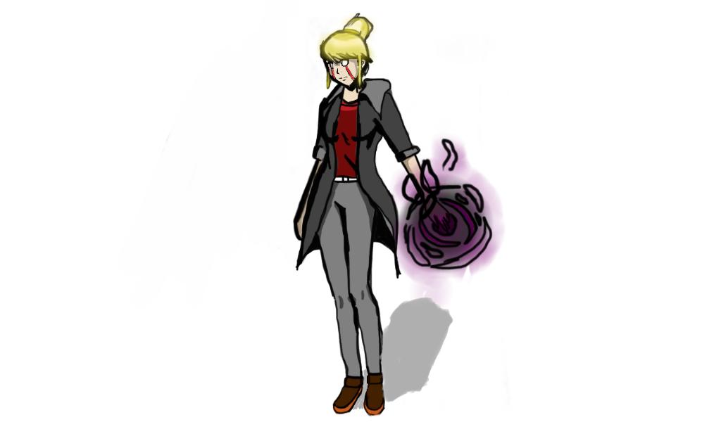 Trisha the Enchantress Colored by GreedTheGreedy